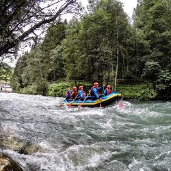 Rafting in the Zillertal