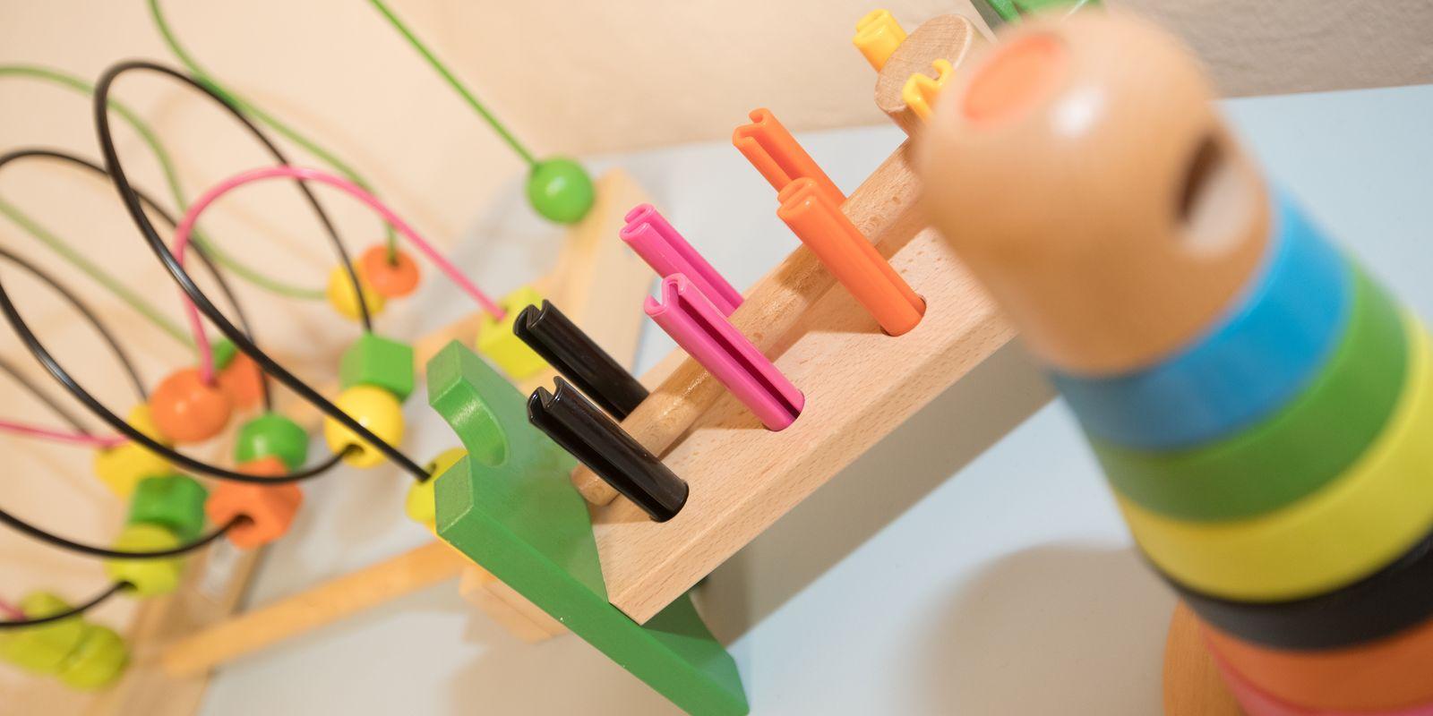 Spielsachen im Keller