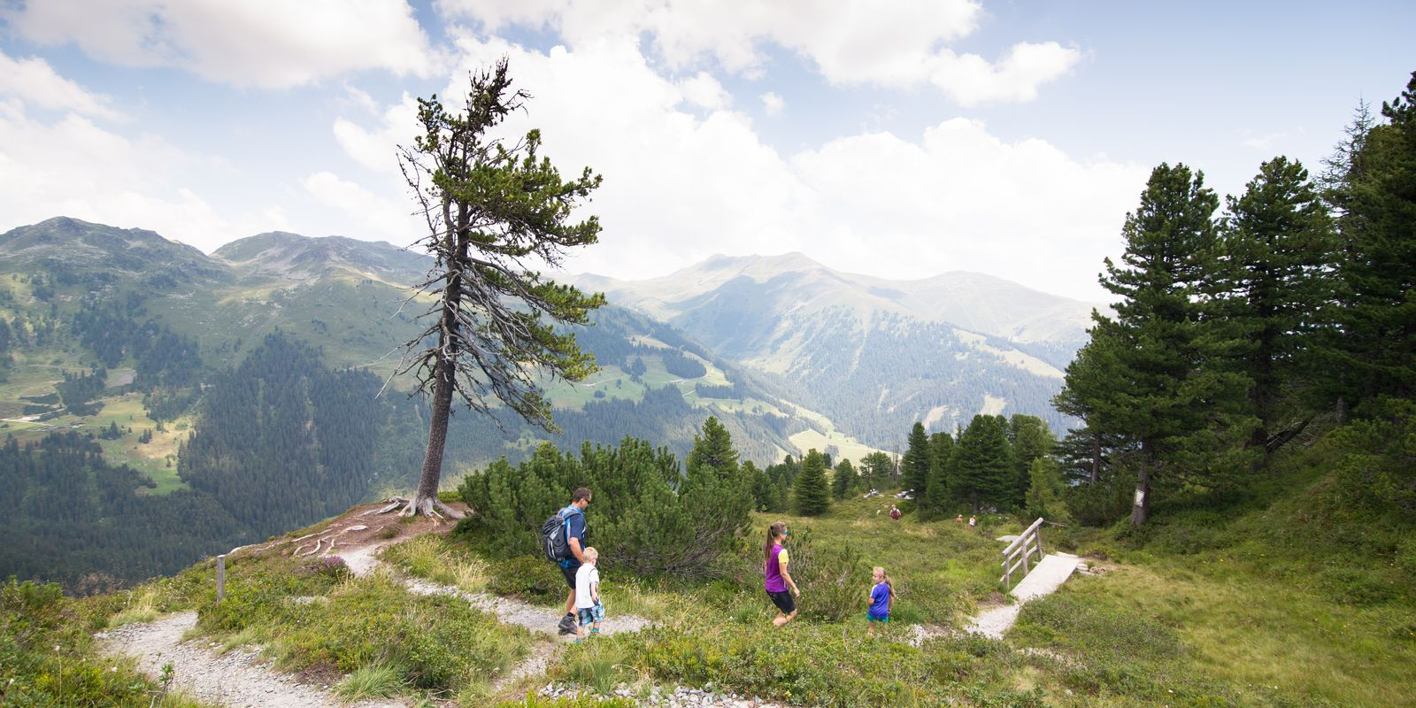 Panoramic hike in the Zillertal Arena