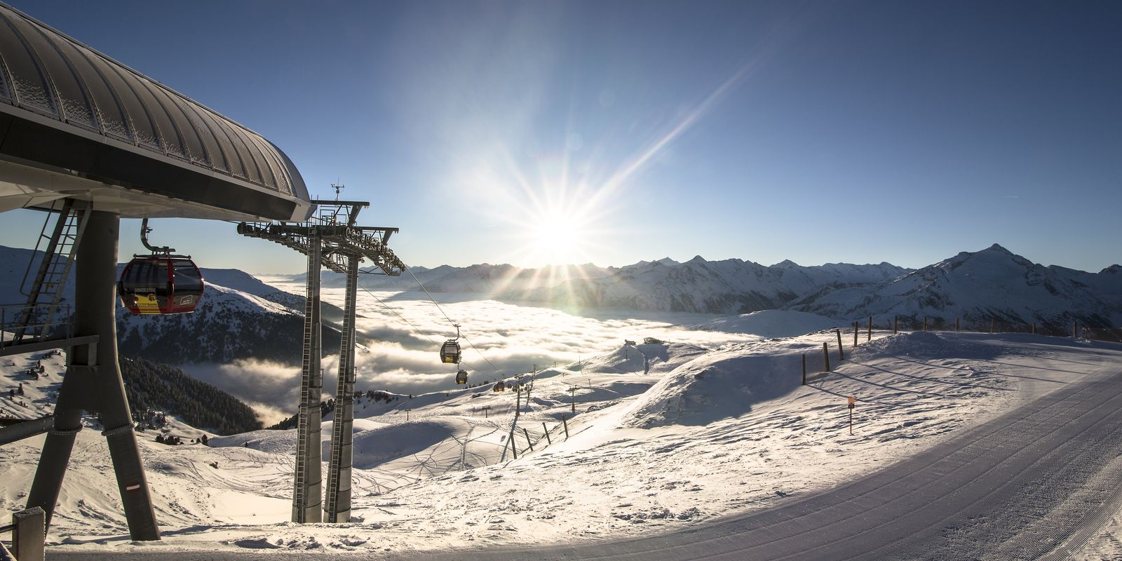 Sonnige Skitage in der Zillertal Arena