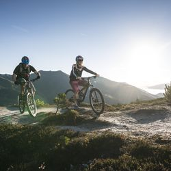 Mountain biking in the Zillertal Arena